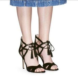 Sam Edelman Azela Strappy Tassel Sandal Size 8